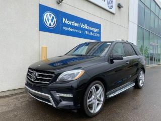 Used 2015 Mercedes-Benz ML-Class ML 550 4MATIC for sale in Edmonton, AB
