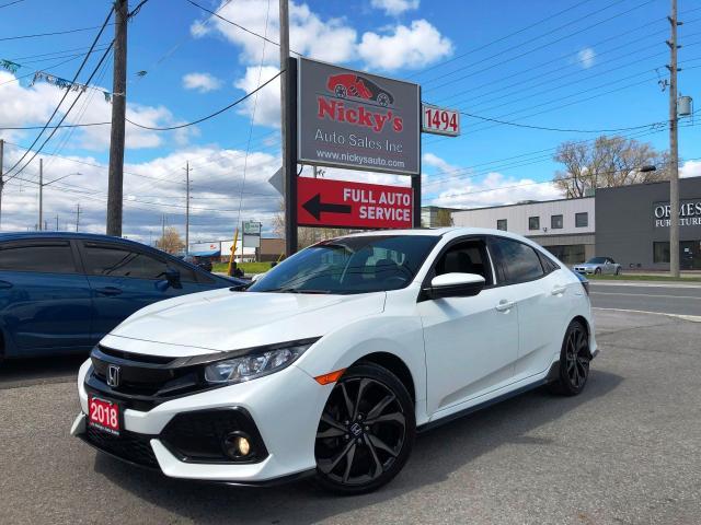 2018 Honda Civic SPORT W/ HONDA SENSING - APPLE CAR PLAY -NAV READY
