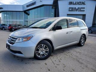 Used 2012 Honda Odyssey EX-L for sale in Winnipeg, MB