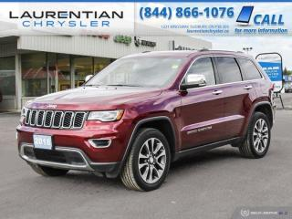 Used 2018 Jeep Grand Cherokee Limited!!  NAVIGATION!!  BACKUP CAM!!  4WD!! for sale in Sudbury, ON