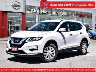 Used 2019 Nissan Rogue S AWD   Apple Carplay   Blind Spot   Heated Seat for sale in Richmond Hill, ON