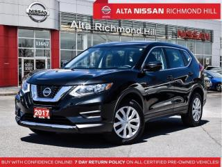 Used 2017 Nissan Rogue S AWD   Heated Seats   Tpms W/Easy Fill   Back-UP for sale in Richmond Hill, ON