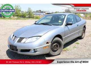 Used 2003 Pontiac Sunfire for sale in Whitby, ON