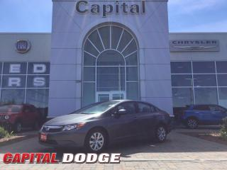 Used 2012 Honda Civic Sdn LX for sale in Kanata, ON