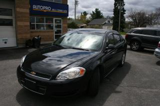 Used 2011 Chevrolet Impala LT for sale in Nepean, ON