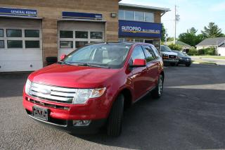 Used 2010 Ford Edge SEL for sale in Nepean, ON