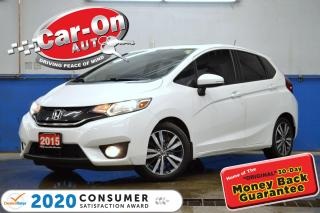 Used 2015 Honda Fit EX-L Navi LEATHER NAV SUNROOF REAR CAM HTD SEATS for sale in Ottawa, ON