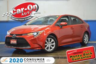 Used 2020 Toyota Corolla LE REAR CAM ADAPTIVE CRUISE HTD SEATS NAV READY for sale in Ottawa, ON