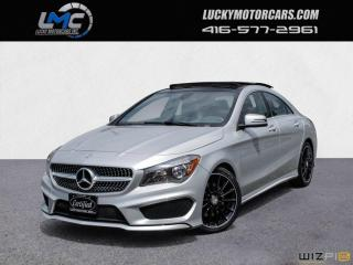Used 2016 Mercedes-Benz CLA-Class CLA250 4MATIC AMG SPORT PKG-PANOROOF-CAMERA-39KMS for sale in Toronto, ON