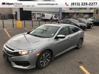 Used 2018 Honda Civic Sedan EX  EX, AUTO, SUNROOF, REAR CAMERA, ALLOYS, REMOTE START for sale in Ottawa, ON