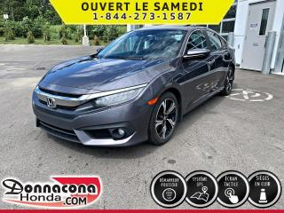 Used 2016 Honda Civic Touring *GARANTIE GLOBALE 2020 OU 100 00 for sale in Donnacona, QC