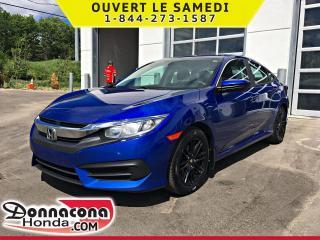 Used 2016 Honda Civic LX *GARANTIE GLOBALE 2021 OU 120 000 KM* for sale in Donnacona, QC