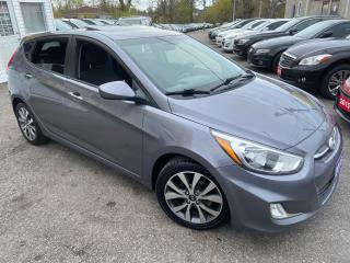 Used 2016 Hyundai Accent SE/LOADED/ SUNROOF/ BLUETOOTH/ ALLOYS/ FOG LIGHTS! for sale in Scarborough, ON