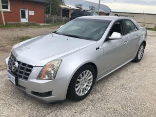 Used 2012 Cadillac CTS Base for sale in Bradford, ON