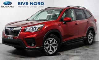 Used 2020 Subaru Forester Convenience MAGS+CAM.RECUL+SIEGES.CHAUFFANTS for sale in Boisbriand, QC