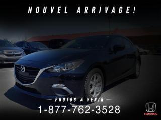 Used 2015 Mazda MAZDA3 GX + SPORT + A/C + AUTO + PROPRE + WOW! for sale in St-Basile-le-Grand, QC