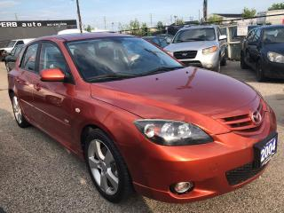 Used 2004 Mazda MAZDA3 GS, 2 SETS OF TIRES, 3 YR WARRANTY, CERTIFIED for sale in Woodbridge, ON