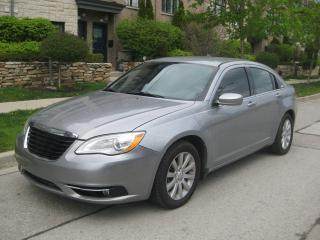 Used 2013 Chrysler 200 NEW TIRES, CERTIFIED, BLUETOOTH, NO ACCIDENTS for sale in Toronto, ON