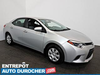 Used 2015 Toyota Corolla LE AIR CLIMATISÉ - Caméra de Recul for sale in Laval, QC