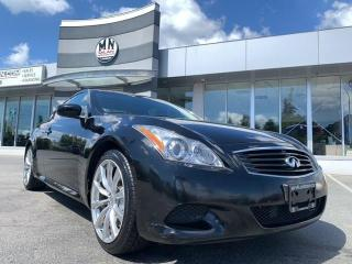 Used 2010 Infiniti G37 Premium RWD NAVI SUNROOF ONLY 102KM for sale in Langley, BC