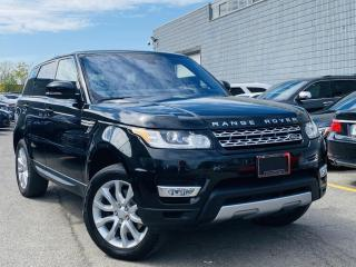 Used 2016 Land Rover Range Rover Sport |DIESEL|SPORT|HUD|PANORAMIC|AIR SUSPENSION|BIRD EYE VIEW! for sale in Brampton, ON