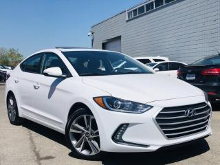 Used 2017 Hyundai Elantra |HEATED SEATS|SUNROOF|BLIND SPOTS|REAR CAM|ALLOYS & MORE! for sale in Brampton, ON