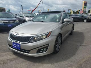 Used 2014 Kia Optima 4dr Sdn Auto SX Turbo for sale in Scarborough, ON