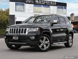 Used 2012 Jeep Grand Cherokee 4WD 4dr Overland *One Owner | Accident Free | Technology* for sale in Scarborough, ON