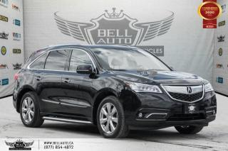 Used 2016 Acura MDX Elite Pkg, NO ACCIDENT, 7 PASS, AWD, NAVI, 360 CAM for sale in Toronto, ON