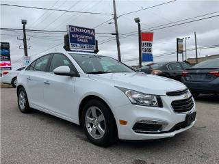 Used 2015 Chevrolet Cruze 2LT | Leather, Heated Seats, Backup cam, Remote St for sale in Caledonia, ON