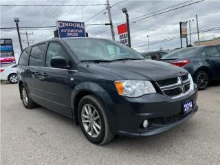 Used 2014 Dodge Grand Caravan 30th Anniversary | Stow n Go, Power Seats, leather for sale in Caledonia, ON