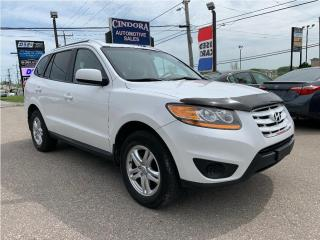 Used 2011 Hyundai Santa Fe GL, REMOTE START, 2.4 LITRE for sale in Caledonia, ON