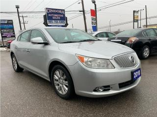 Used 2010 Buick LaCrosse CXL v6 | Auto, Remote Start, Bluetooth, Power Seat for sale in Caledonia, ON
