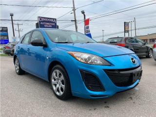 Used 2010 Mazda MAZDA3 Automatic, Satellite Radio, fully certified for sale in Caledonia, ON