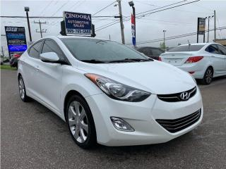 Used 2013 Hyundai Elantra Limited   Leather Heated Seats, Sunroof for sale in Caledonia, ON