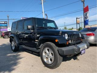 Used 2013 Jeep Wrangler Unlimited Sahara | 4x4, Heated Seats, 2 Tops for sale in Caledonia, ON