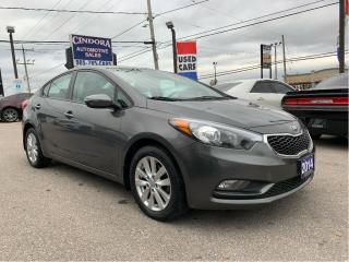 Used 2014 Kia Forte LX | Auto, Heated Seats, Sirius Radio, Bluetooth for sale in Caledonia, ON