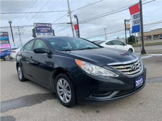 Used 2013 Hyundai Sonata GL | Heated Seats, Bluetooth,  CLEAN CARFAX for sale in Caledonia, ON