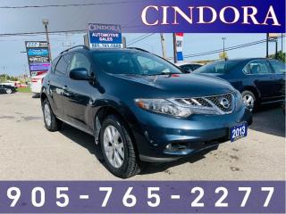Used 2013 Nissan Murano SL AWD, Leather, Heated Seats, Backup Cam for sale in Caledonia, ON