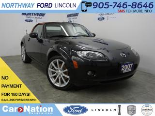 Used 2007 Mazda Miata MX-5 GT | CONVERTIBLE | 6 SPEED | LEATHER | BOSE for sale in Brantford, ON