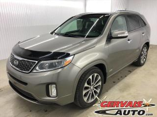 Used 2015 Kia Sorento SX V6 AWD GPS Cuir Toit Panoramique Mags *Traction intégrale* for sale in Trois-Rivières, QC