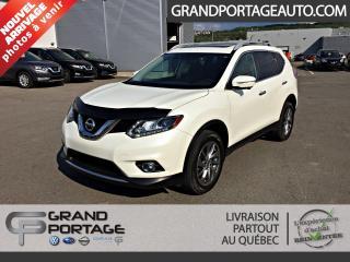Used 2015 Nissan Rogue Traction intégrale 4 portes SL **Toit**C for sale in Rivière-Du-Loup, QC