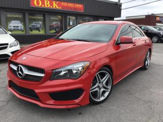 Used 2016 Mercedes-Benz CLA-Class AMG PKG-4MATIC-NAVI-CAM RECUL-BLUETOOTH-AWD for sale in Laval, QC