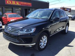 Used 2016 Volkswagen Touareg V6 SPORT-TOIT PANO-NAVIGATION-CAM RECUL-BLUETOOTH for sale in Laval, QC