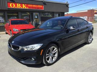 Used 2016 BMW 428i 4dr-428i xDrive AWD Gran Coupe-NAVIGATION-CAM RECU for sale in Laval, QC