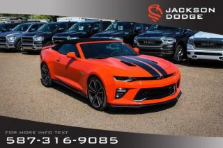 Used 2018 Chevrolet Camaro 2SS - Convertible, NAV, Low KM for sale in Medicine Hat, AB