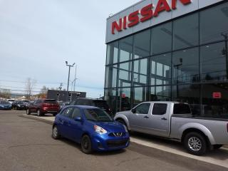 Used 2016 Nissan Micra SV AUTOMATIQUE MAIN LIBRE*AIR CLIMATISÉ for sale in Lévis, QC