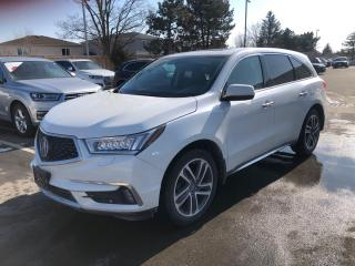 Used 2018 Acura MDX SH-AWD TECH PACKAGE for sale in Ottawa, ON