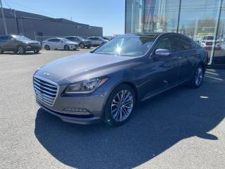 Used 2015 Hyundai Genesis 27000 KILOS AWD CUIR TOIT GPS SIÈGE ÉLEC for sale in Alma, QC
