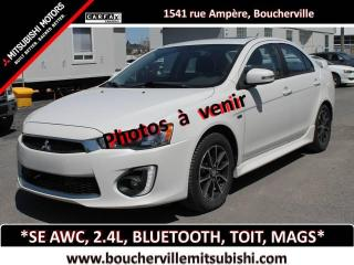 Used 2016 Mitsubishi Lancer 4dr Sdn CVT SE LTD AWC for sale in Boucherville, QC